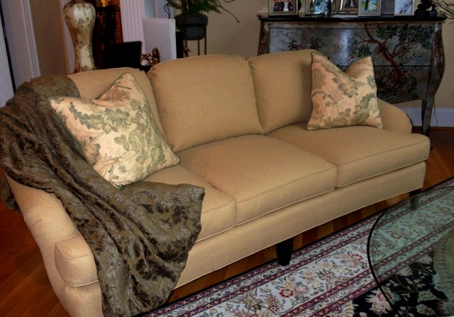 Restuff Couch Cushions Down