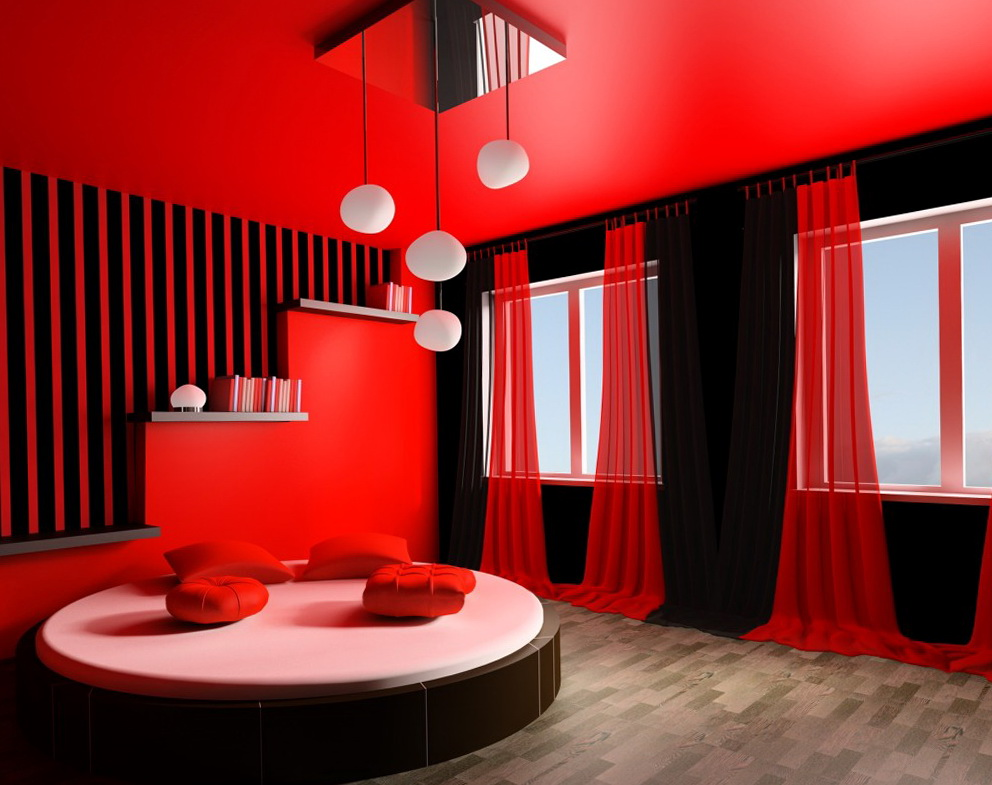 Round Beds With Curtains