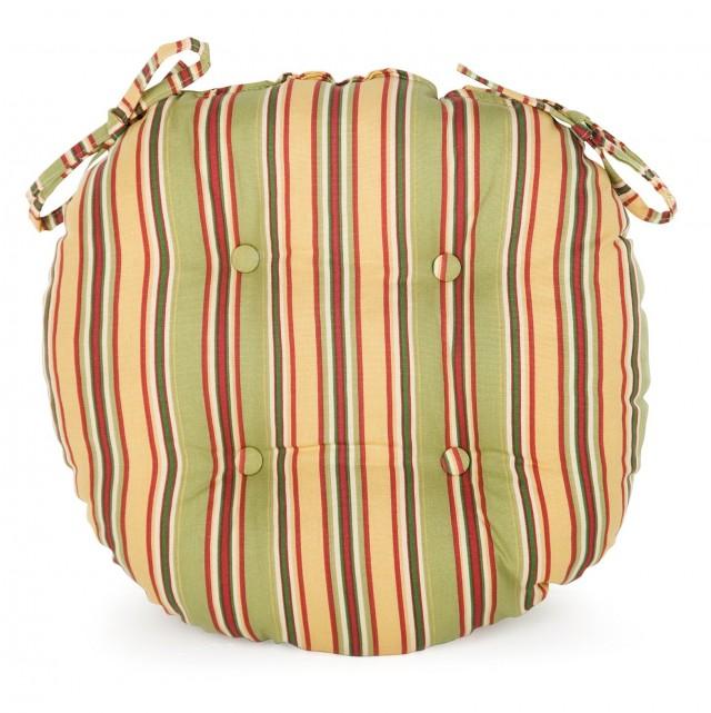 Round Bistro Chair Cushions Sunbrella