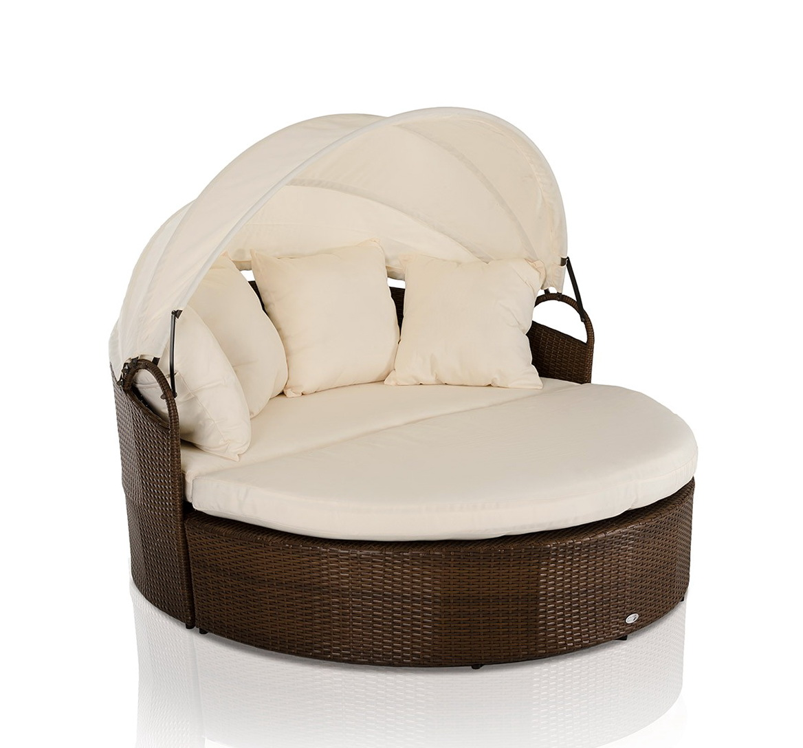 Round Futon Chair Cushion