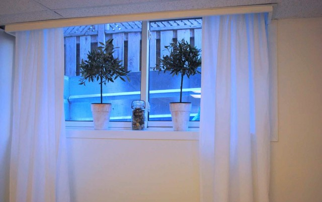 Short Curtains For Basement Windows