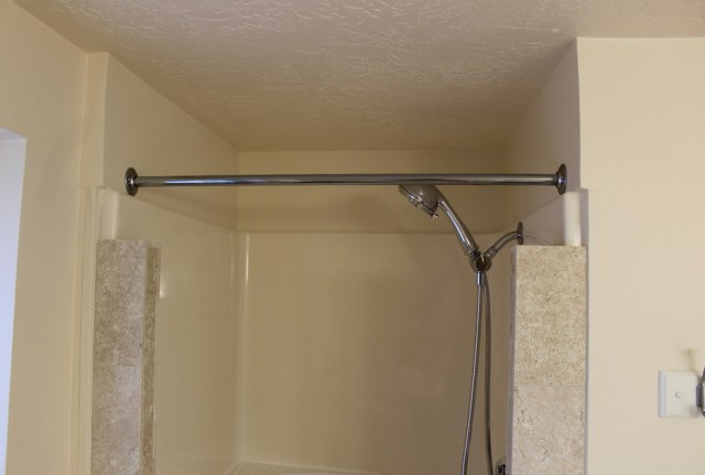 Shower Curtain Rod Installation