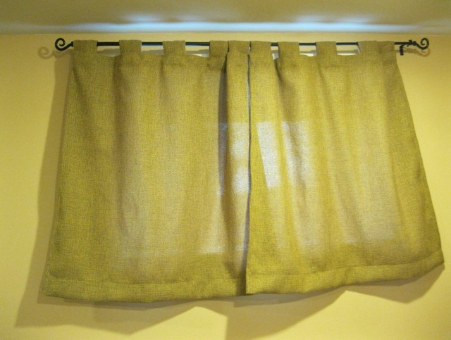 Small Curtains For Basement Windows