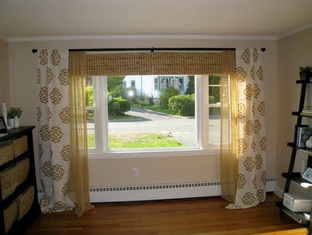 Small Window Big Curtains