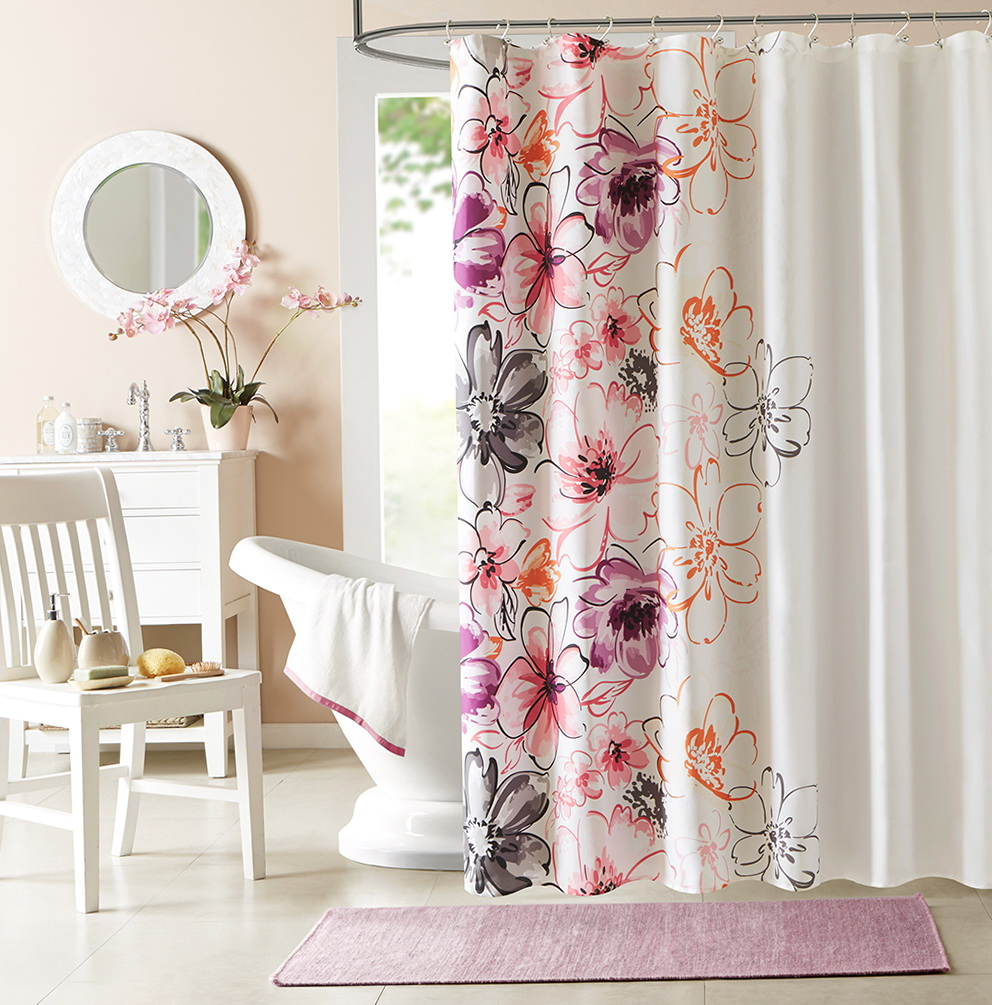 Spa Style Shower Curtains