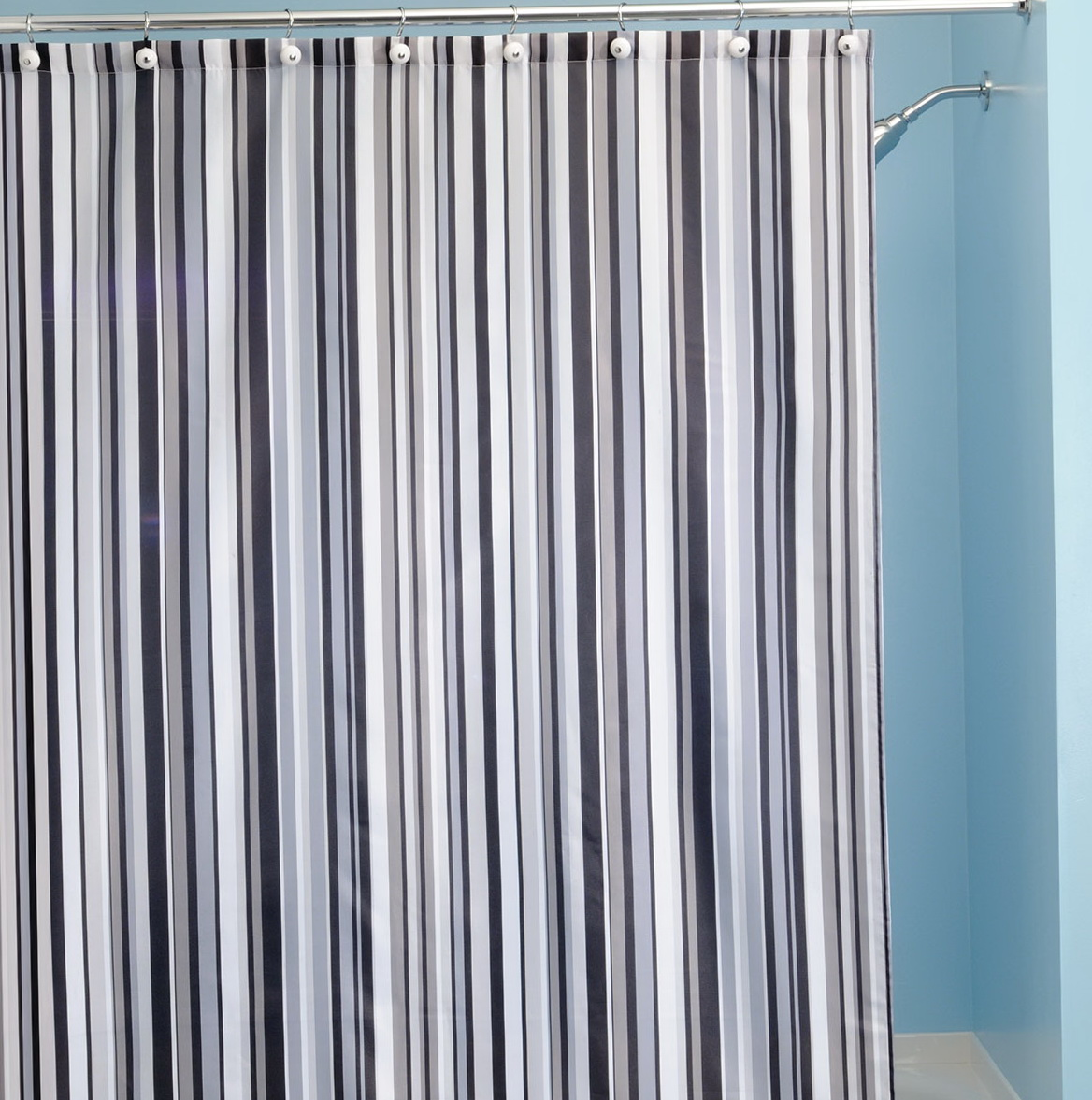 Striped Material For Curtains