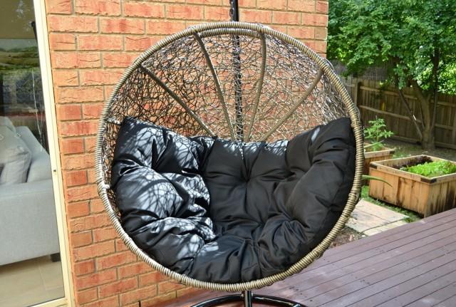 Wicker Chair Cushion Round Back