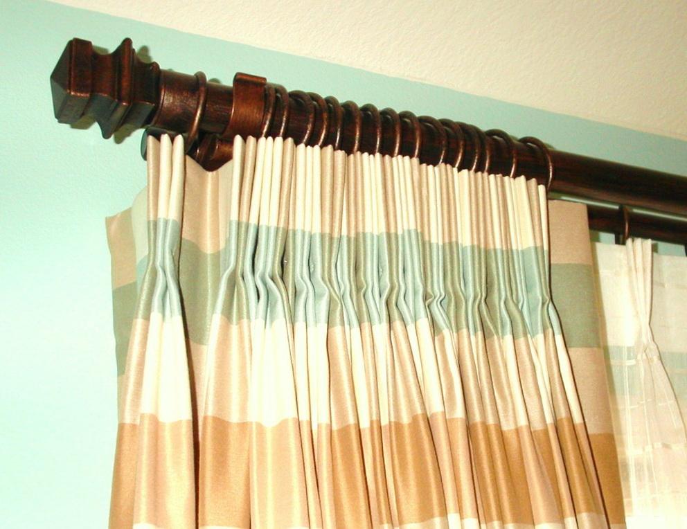 Window Curtain Rod Installation