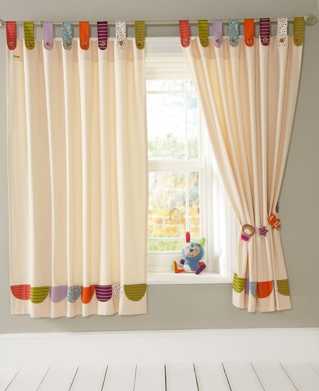Baby Nursery Curtains Neutral