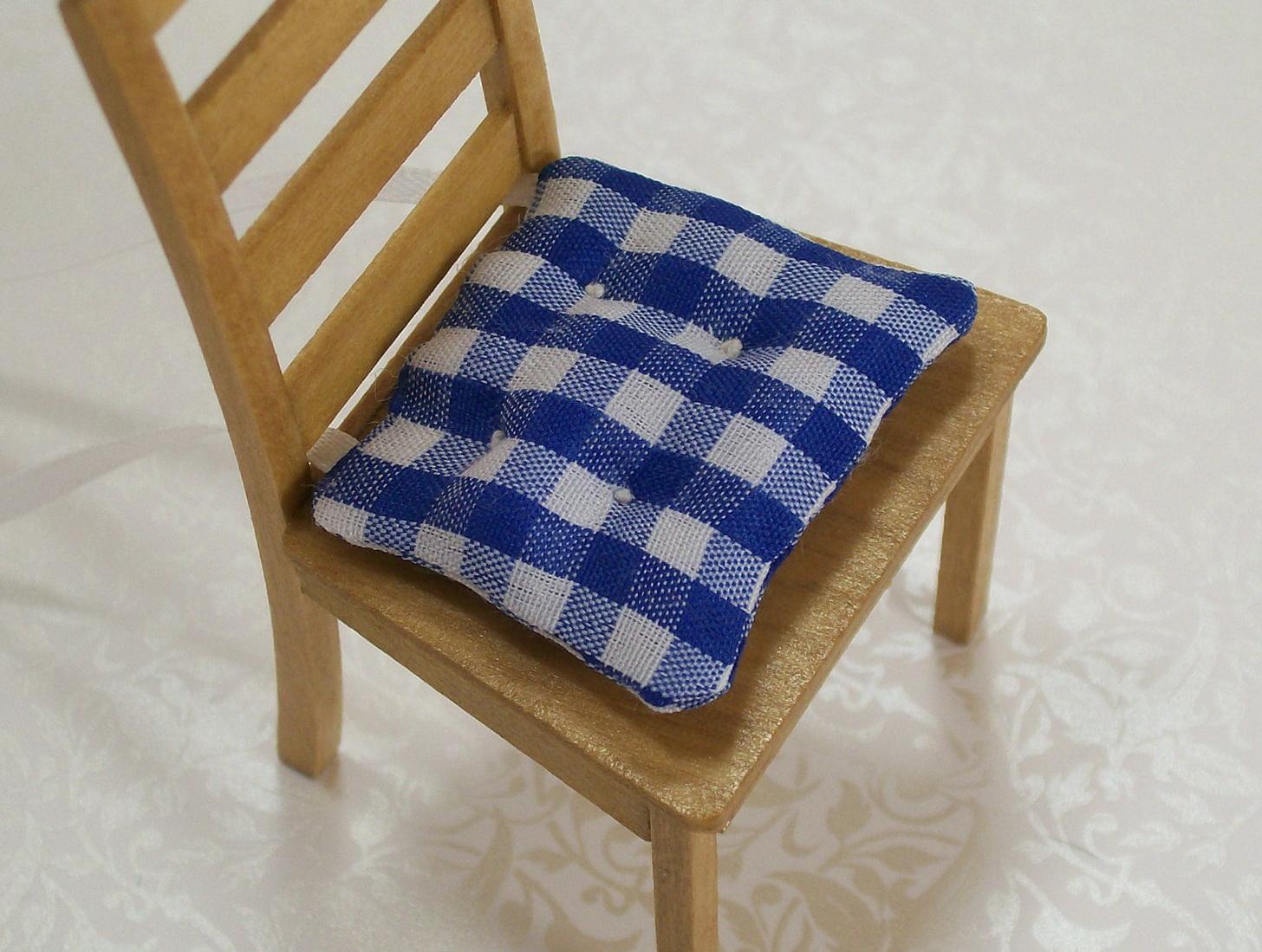 Blue And White Chair Cushions