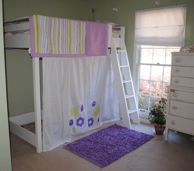 Bottom Bunk Bed Curtains