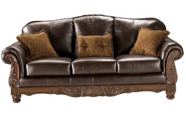 Brown Leather Couch Cushions