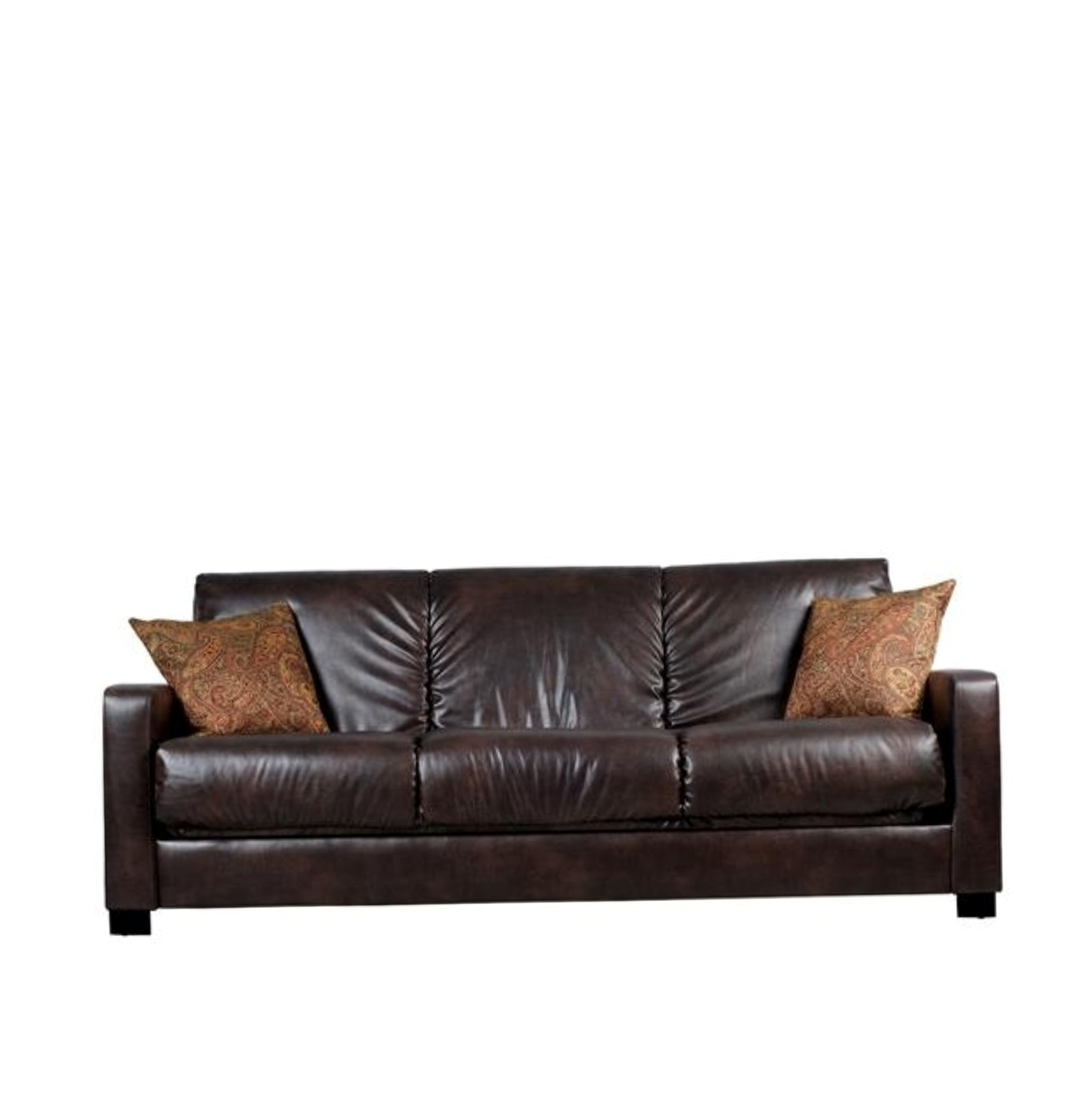 Brown Leather Sofa Cushions