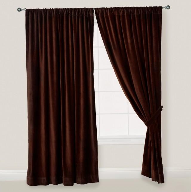 Brown Velvet Curtains Ikea