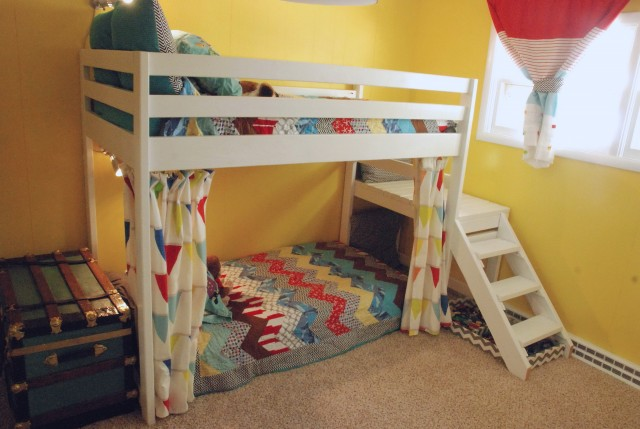 Bunk Bed Curtains Diy