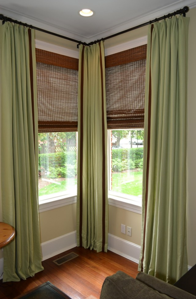 Corner Window Curtain Rod