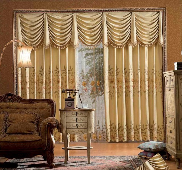 Curtain Valance Design Ideas