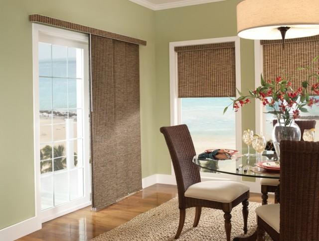Curtains Sliding Glass Doors Kitchen