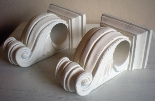 Decorative Curtain Rod Holders