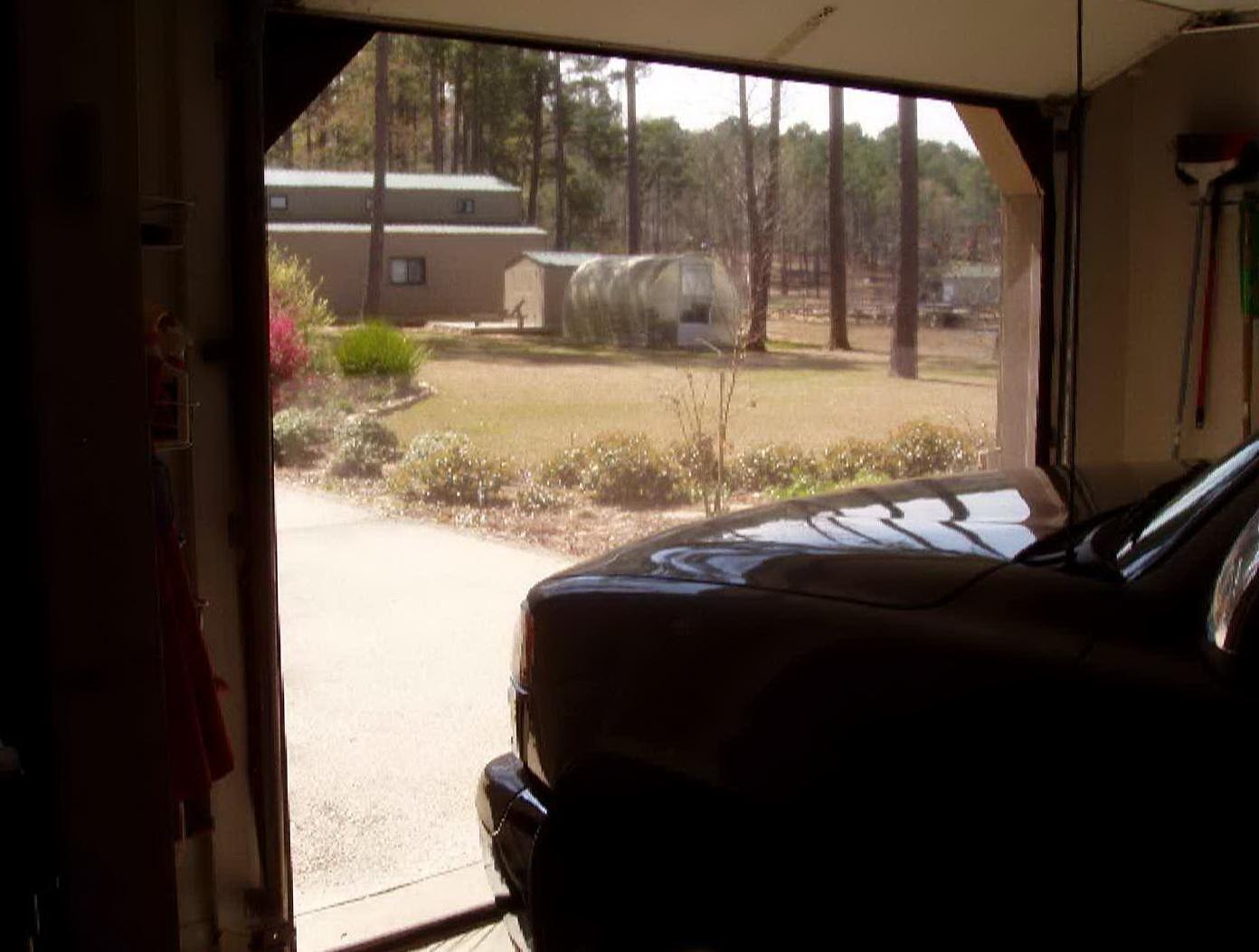 Garage Door Air Curtain