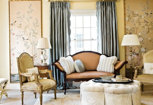 Images Of Curtains For Living Room