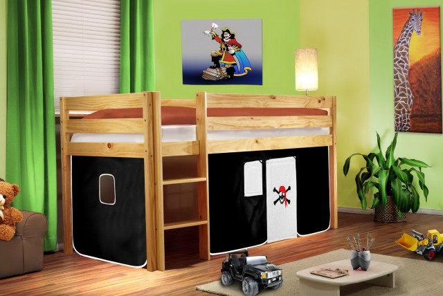 Kids Bunk Bed Curtains