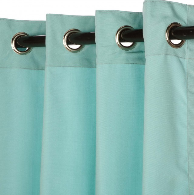 Outdoor Canvas Curtains With Grommets