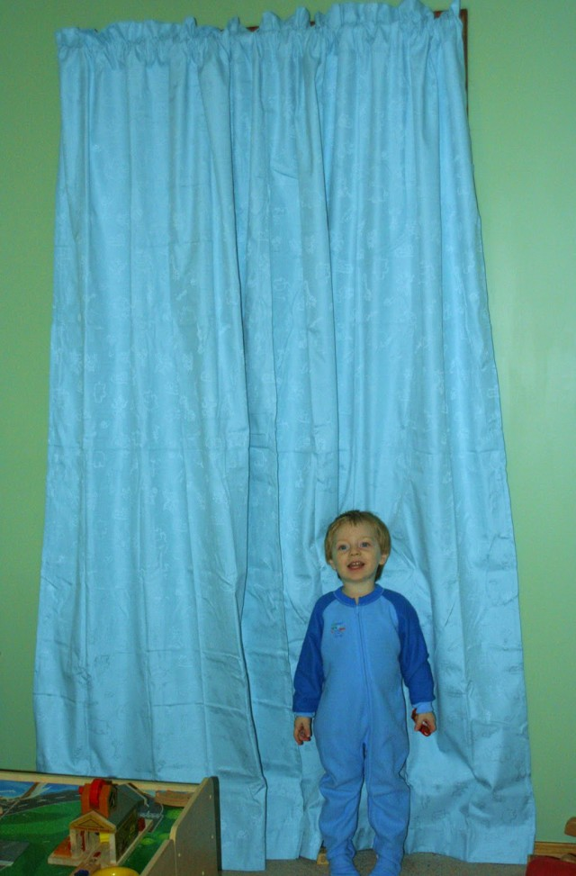 Pale Blue Curtains For Nursery