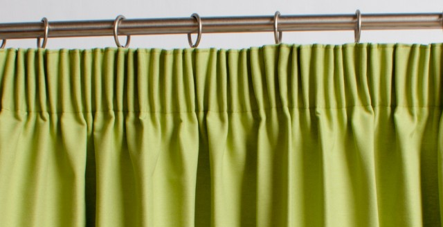 Pencil Pleat Curtains On Track