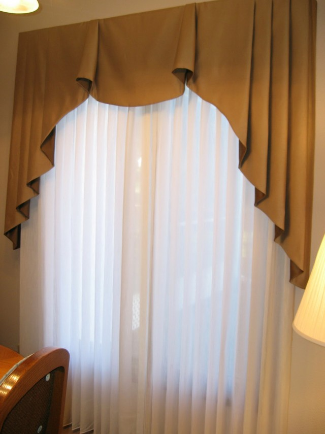 Pleated Sheer Curtains Window Treatments