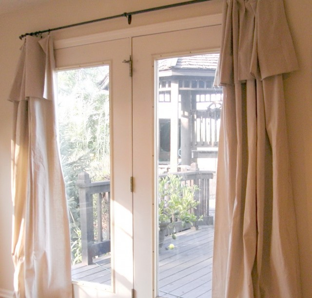 Sliding Glass Door Curtain Ideas