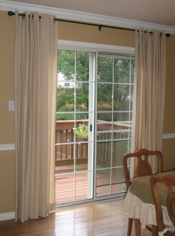 Standard Curtain Length For Sliding Glass Door