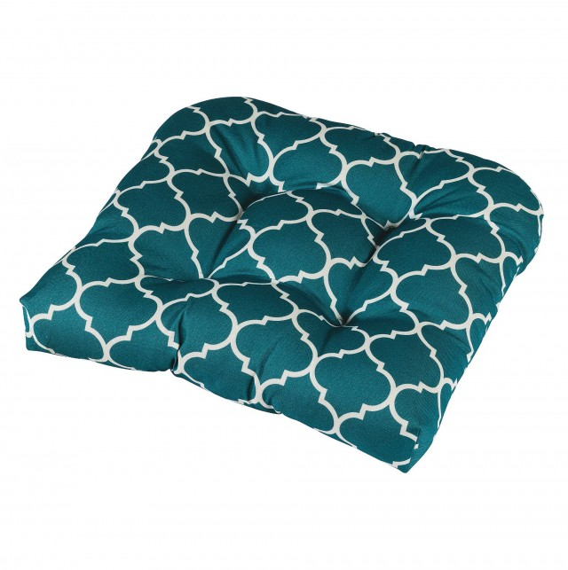 Turquoise Dining Chair Cushions