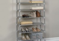 12×34 Closet Shoe Shelves