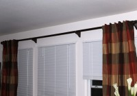 144 Curtain Rod Home Depot