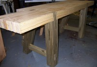 2×4 Woodworking Bench Plans