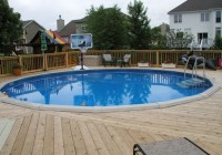 Above Ground Pool Deck Designs Pictures