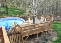 Above Ground Pool Deck Ideas On A Budget