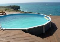Above Ground Pool Decks Ideas
