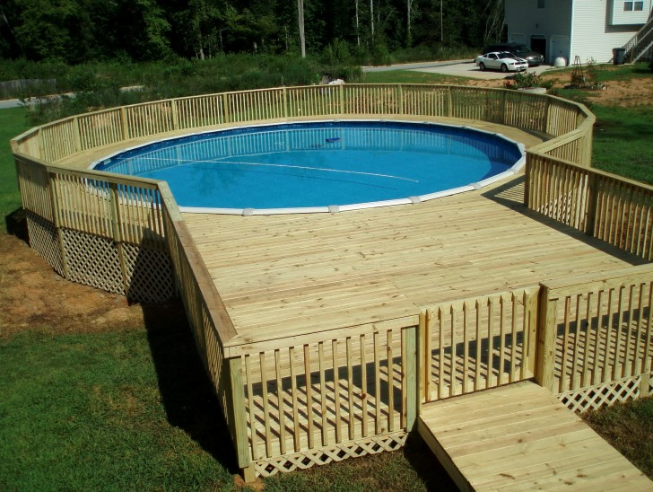 Permalink to Above Ground Pool Decks Pictures