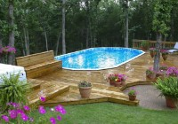 Above Ground Pool Decks Pictures Ideas