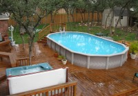 Above Ground Pools With Decks Cost