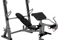 Adjustable Weight Bench With Preacher Curl