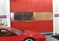 Air Curtain Roll Up Door