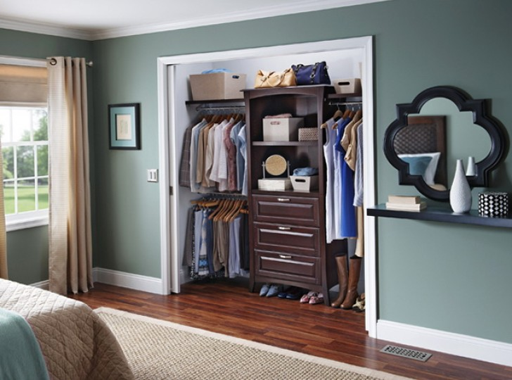 Permalink to Allen And Roth Closet Shelving
