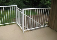 Aluminum Handrails For Decks