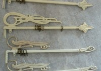 Amish Wrought Iron Curtain Rods
