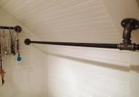Angled Closet Rod Bracket
