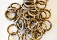 Antique Brass Curtain Rings