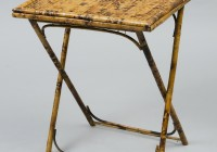 Antique Folding Side Table